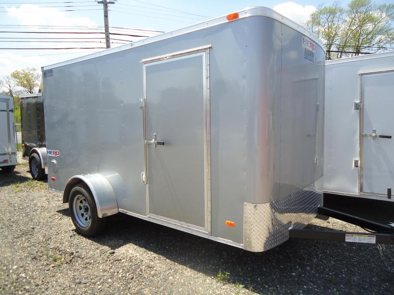 2019 Bravo Trailers 6X12 HR HERO SA SVNTS SILVER Enclosed Cargo Trailer