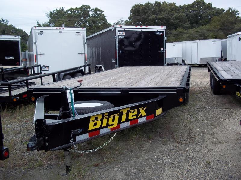 2017 Big Tex Trailers EH-8.5X18 10OA-18BK 8RSIR FLAT Equipment Trailer