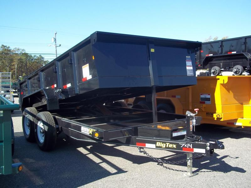 2017 Big Tex Trailers DT-7X14 14LX-14BK7SIRPD TARP BLACK