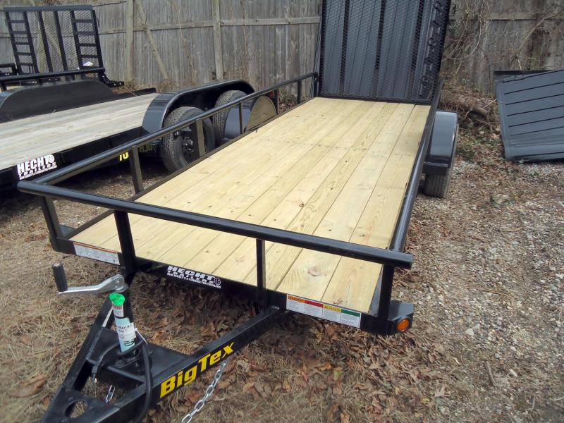 2020 Big Tex Trailers UT 5X14 30SA 14BK 4RG BLACK Utility Trailer