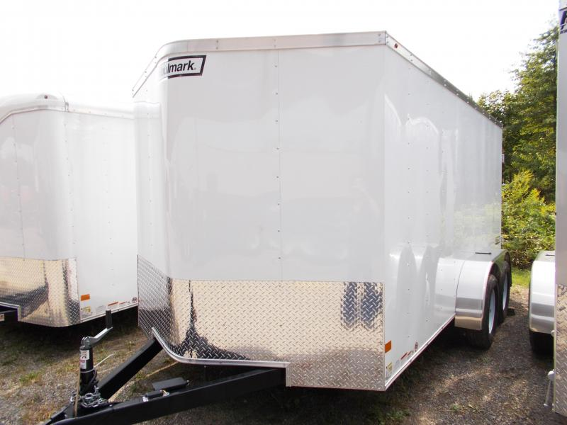 Haulmark 7X14 PPT DT2 WHITE CARGO / ENCLOSED TRAILER