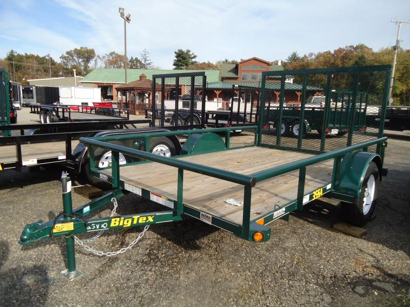 Big Tex Trailers UT-6.5X10 35SA-10GR4RG GREEN Utility Trailer