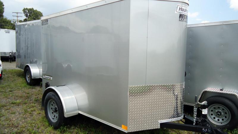 2019 Haulmark 5X8 TSTV S2 EB SILVER Enclosed Cargo Trailer