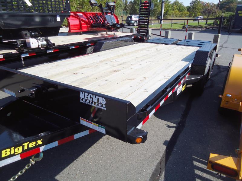 2019 Big Tex Trailers EH 7X18 16ET 153BK 5SUMR MEGA BLACK Car / Racing Trailer
