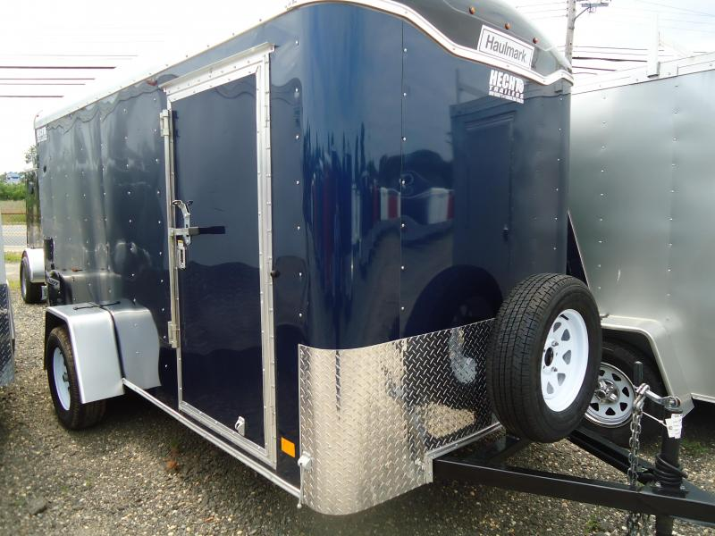 2017 Haulmark 6X12 TST DS2 RVNT SVNT SPARE BLUE Enclosed Cargo Trailer