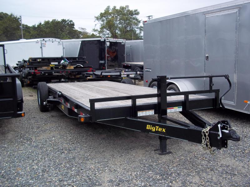 2017 Big Tex Trailers EH 7X20 14ET-20BK-MR DT MEGA BLACK  Equipment Trailer