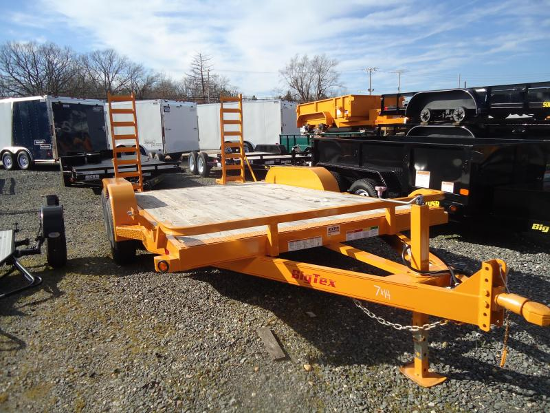 2016 Big Tex Trailers EH-7X20 10ET-20KRYE KNEE RAMPS Equipment Trailer