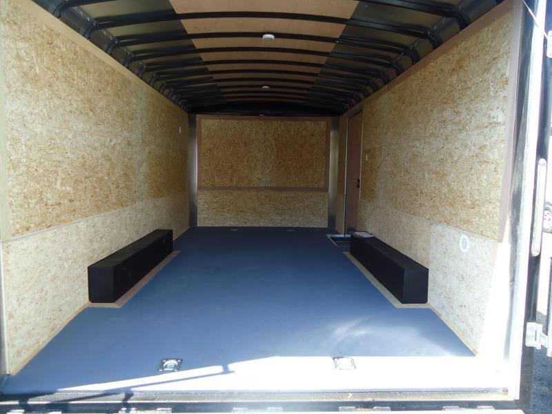 2017 Pace American 8.5X20 CLS TE3 18TUNG RAMP WHITE Enclosed Cargo Trailer