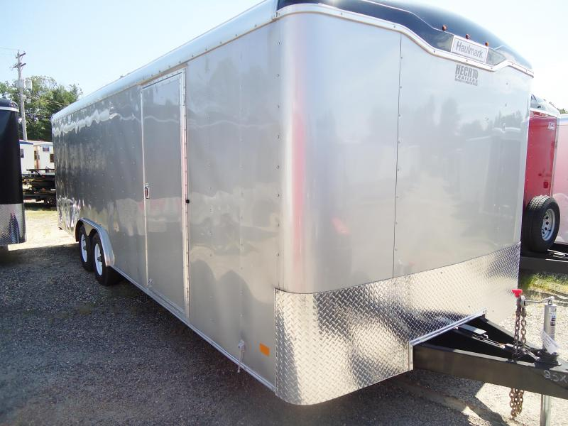 2017 Haulmark 8.5X24 TST WT3 SILVER Car / Racing Trailer
