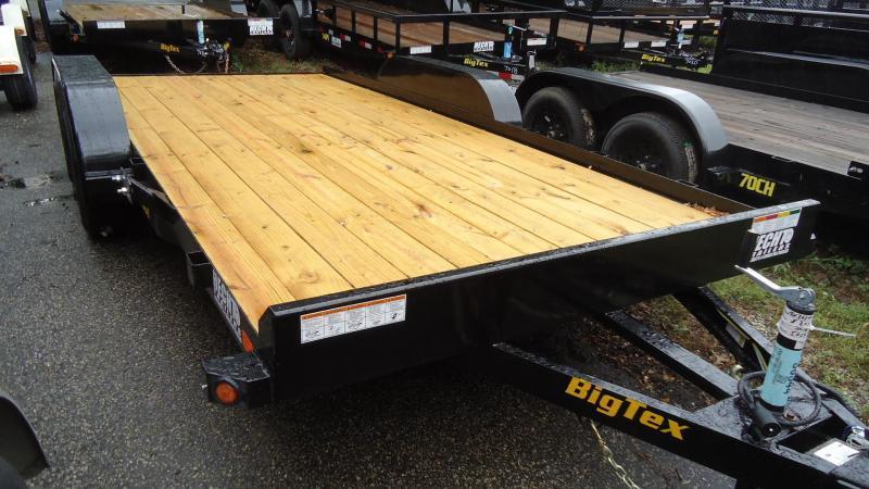 2020 Big Tex Trailers CH 7X16 70CH 16BK4SIR BLACK Equipment Trailer