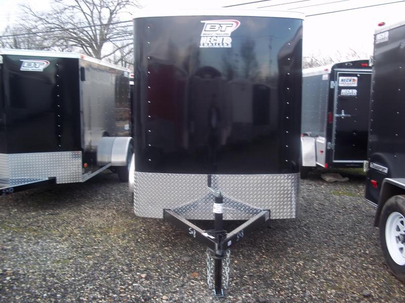 2017 Bravo Trailers 5X8SC SA 6X LD RAMP APP BLACK Enclosed Cargo Trailer