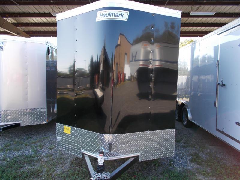 2020 Haulmark 6X10 PPT S2 BLACK Enclosed Cargo Trailer
