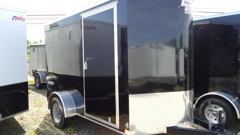 2019 Haulmark 6X10 TSTV S2 ELEC BRKS RAMP BLACK Enclosed Cargo Trailer