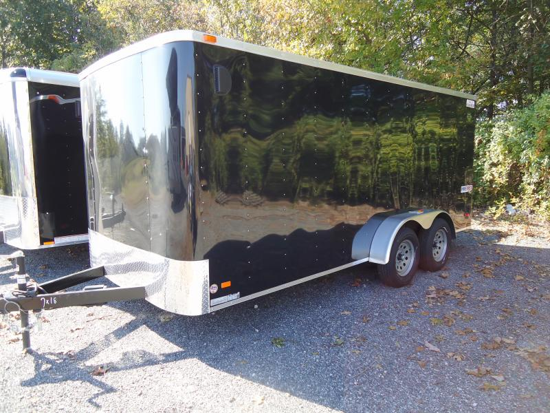 2019 Bravo Trailers 7X16 HR TA2 RAMP BLACK Enclosed Cargo Trailer