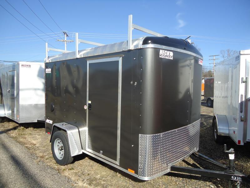 2019 Pace American 6X10 JT SI2 3PC LAD RCK SVNT CHARCOAL Car / Racing Trailer