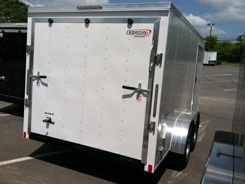 2017 Bravo Trailers 7X14SC TA2 MC Enclosed Cargo Trailer