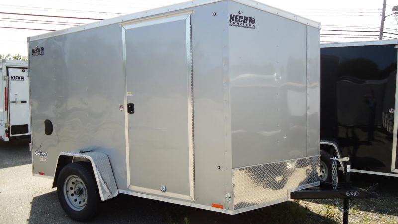 2020 Pace American 6X10 OBDLX SI2 24VS SVNT SILVER Enclosed Cargo Trailer