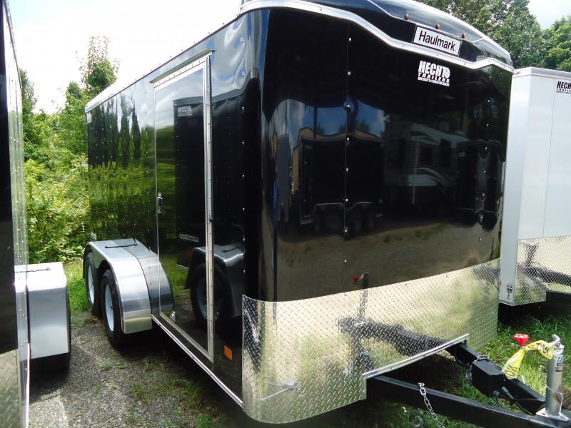 2017 Haulmark 7X14 TST WT2 RAMP BLACK Enclosed Cargo Trailer