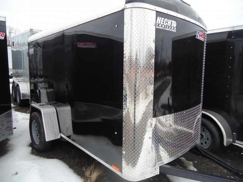 2018 Pace American 5X10 JT SE SI2 DRNG RAMP BLACK Enclosed Cargo Trailer