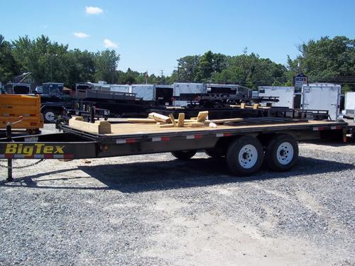 2016 Big Tex Trailers EH-8.5X16 14OA-14BK8SIR Equipment Trailer