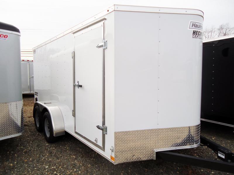 2020 Haulmark 7X14 PP T2-D RAMP WHITE Enclosed Cargo Trailer