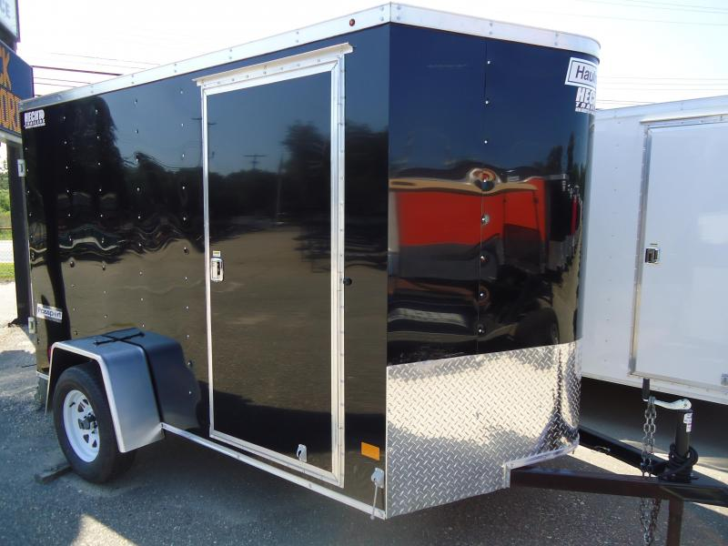 2018 Haulmark 6X10 PPT DS2 BLACK CARGO / ENCLOSED TRAILER