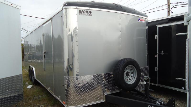 "2020 Pace American 8.5X24 CLS TE3 18""XA RAMP SVNT SILVER Enclosed Cargo Trailer"