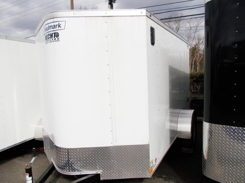 2019 Haulmark 6X12 PPT WHITE Enclosed Cargo Trailer