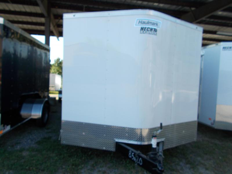 2020 Haulmark 8.5X20 PPT T2 RAMP WHITE Enclosed Cargo Trailer