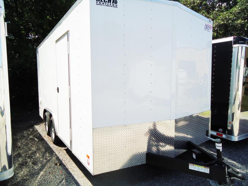 2016 Bravo Trailers 8.5X16 SC TA2 HD RAMP 6X WHITE Enclosed Cargo Trailer