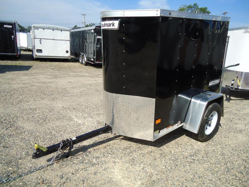2017 Haulmark 4X6 PPT DS2 BLACK Enclosed Cargo Trailer