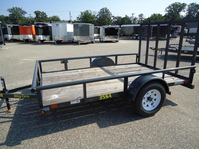 2018 Big Tex Trailers UT 6.5X10 35SA-10BK4RG BLACK Utility Trailer