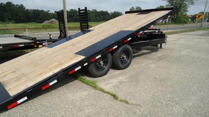 2019 Big Tex Trailers EH 8.5X22 14OT 22BK FULL TILT BLACK Equipment Trailer