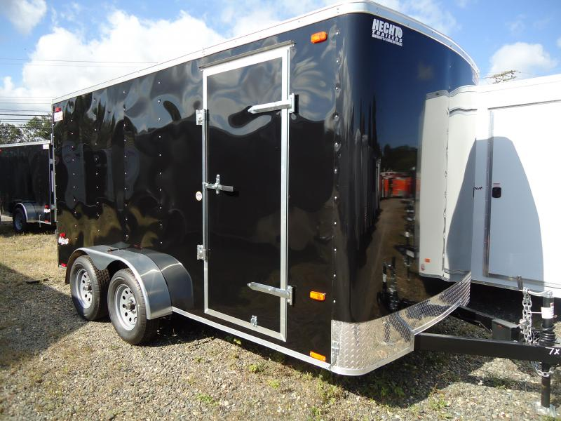 "2019 Pace American 7X14 OB TE2 6""X BLACK Enclosed Cargo Trailer"