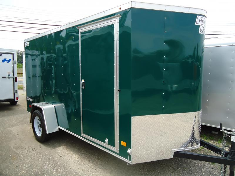 2017 Haulmark 6X12 PPT DS2 RAMP GREEN Enclosed Cargo Trailer