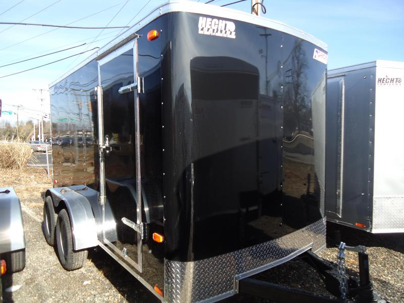 2019 Pace American 6X12 OB TE2 RAMP BLACK Enclosed Cargo Trailer