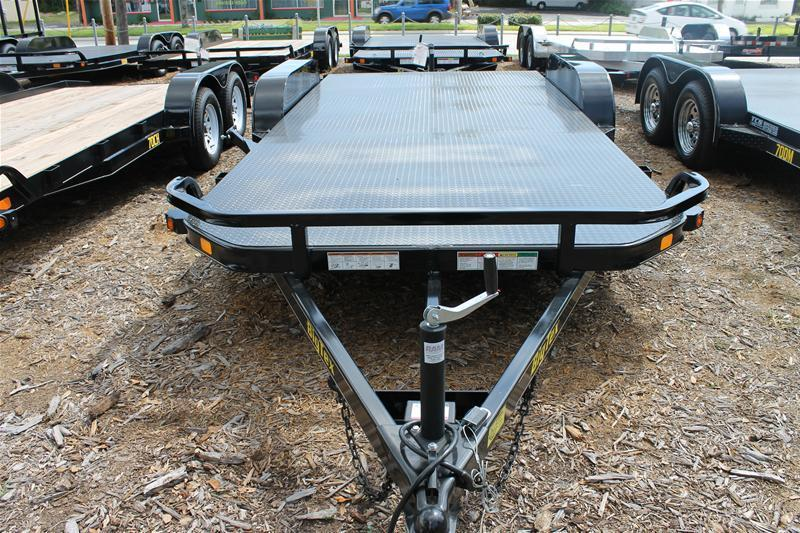 2017 Big Tex Trailers CH-7X18 10DM-18BK BLACK Car / Racing Trailer
