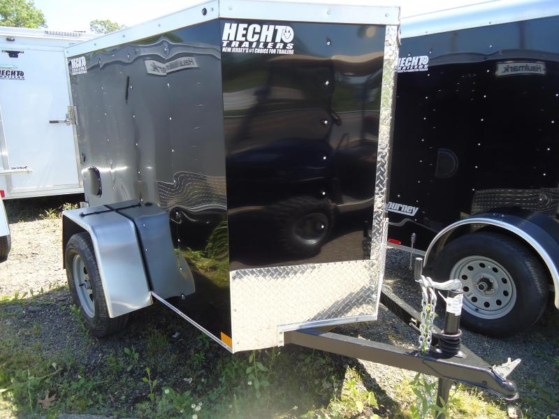 2018 Haulmark 4X6 HMVG S BLACK 3000 Trim Level Enclosed Cargo Trailer
