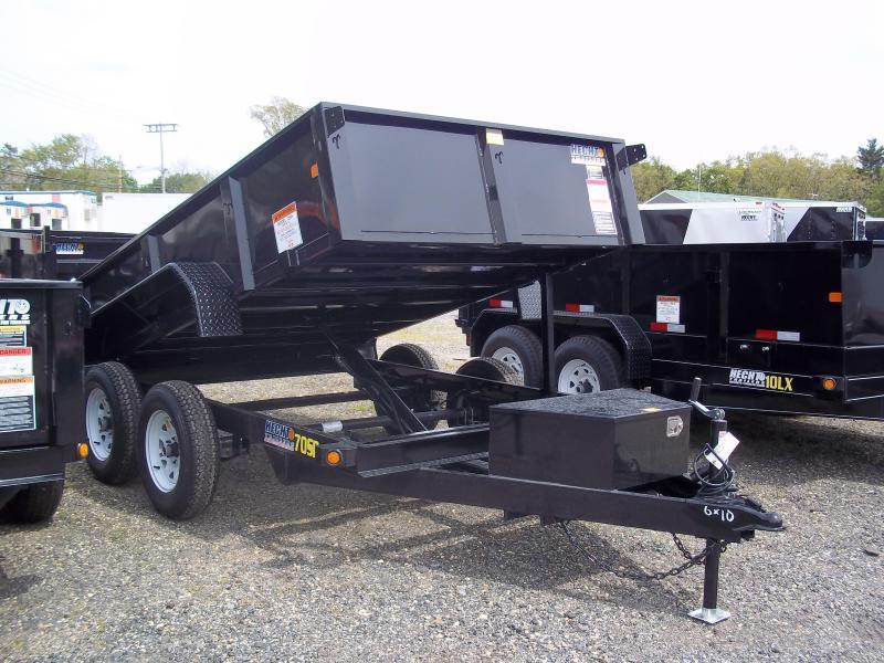 2017 Big Tex Trailers DT-6X10 70SR-10BK LOPRO BLACK