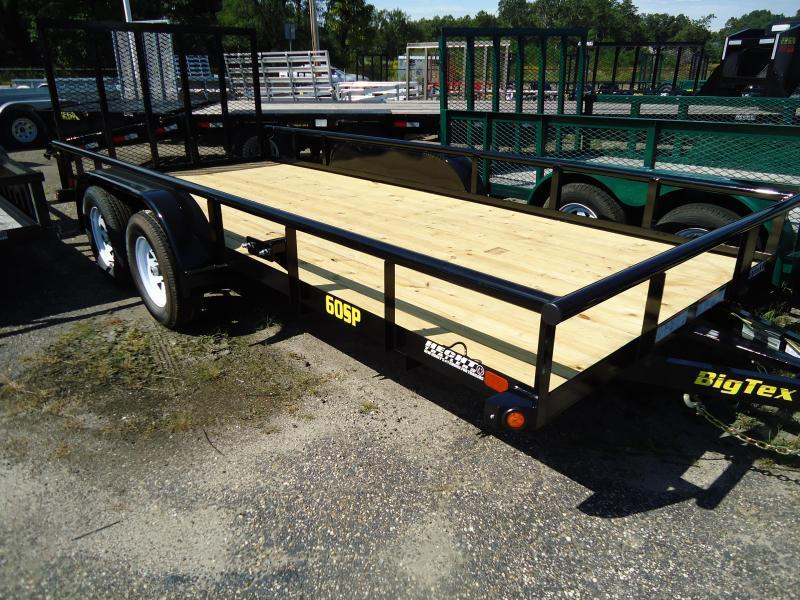 Big Tex Trailers UT 6.5X16 60SP 16BK4RG BLACK