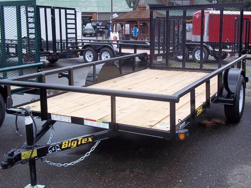 2015 Big Tex Trailers 6.5X12 35SA Utility Trailer