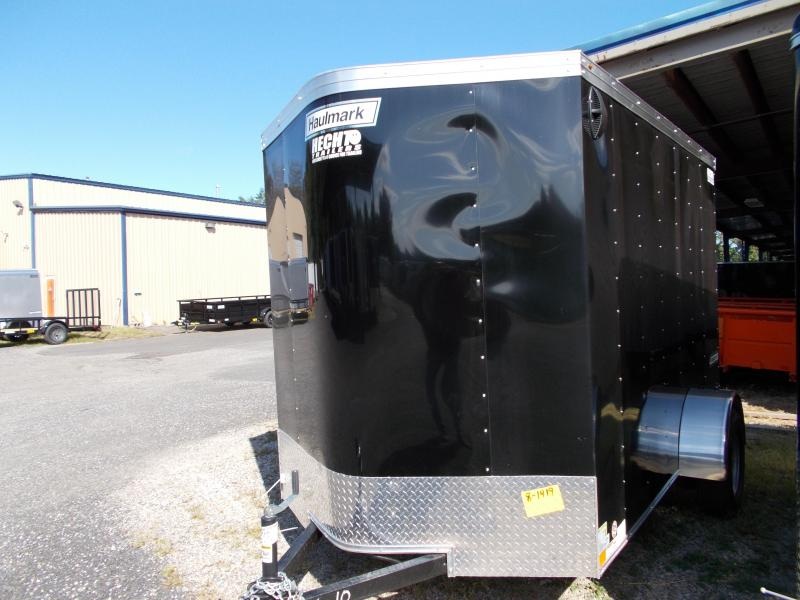 2020 Haulmark 6X10 PPT S2 RAMP BLACK Enclosed Cargo Trailer