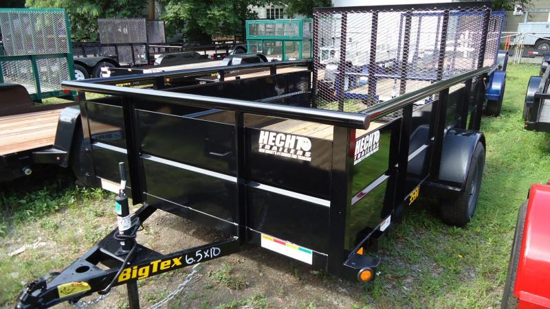 2020 Big Tex Trailers UT 6.5X10 35SV 10BK 4RG BLACK Utility Trailer