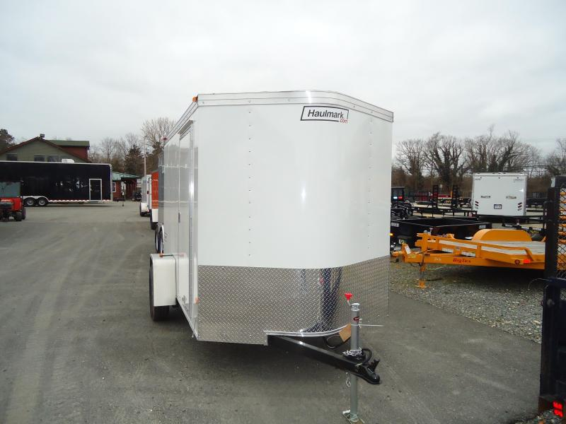 2017 Haulmark 6X10TSTV DS2 WHITE Enclosed Cargo Trailer