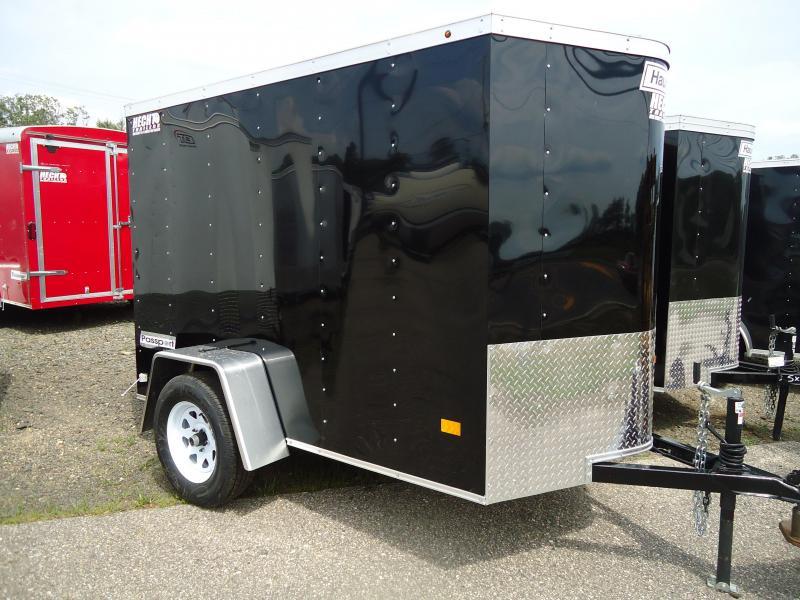 2017 Haulmark 5x8 PPT DS2 BLACK Enclosed Cargo Trailer