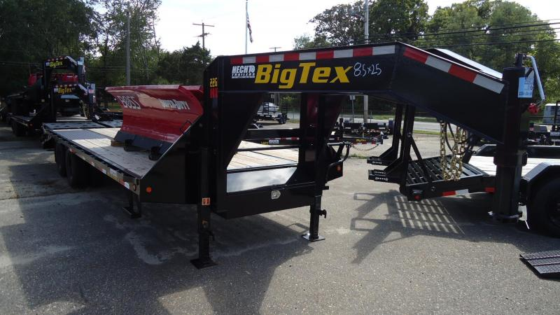 2020 Big Tex Trailers EH 8.5X25 22GN 20BK 5MR MEGA BLACK Equipment Trailer