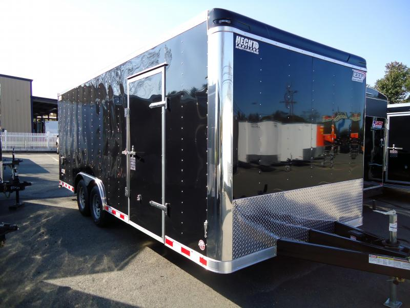 2018 Bravo Trailers 8.5X20 ST TA3 LND SCP HD RAMP BLACK Car / Racing Trailer