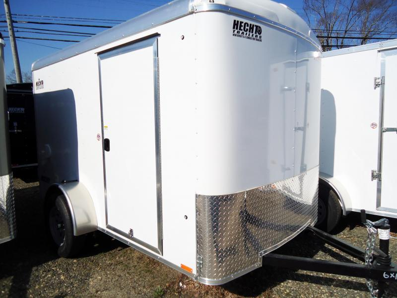 2020 Pace American 6X10 JT SI2 SVNTS WHITE Enclosed Cargo Trailer