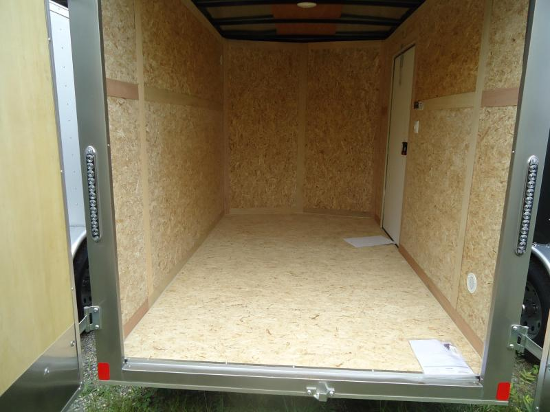 2017 Bravo Trailers 6X10 SC SA 6IN X APP PEWTER Enclosed Cargo Trailer
