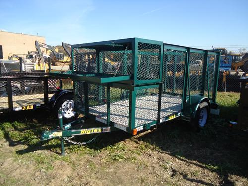 2015 Big Tex Trailers UT-7X14 35LS-14GR Utility Trailer